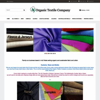 Organiccotton.biz thumbnail