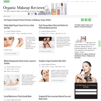 Organicmakeupreviews.com thumbnail