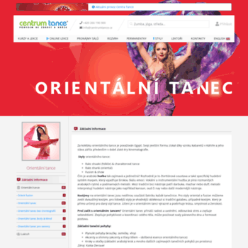 Orientalnitanec.cz thumbnail