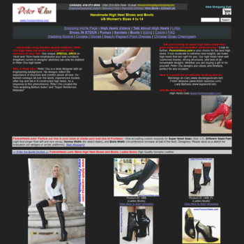 d784241a2e6 orientvisual.com at WI. Peter Chu Shoes 6 Inch Heels Forever ...