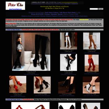 3af22af53e6 orientvisual.com at WI. Peter Chu Shoes 6 Inch Heels Forever ...