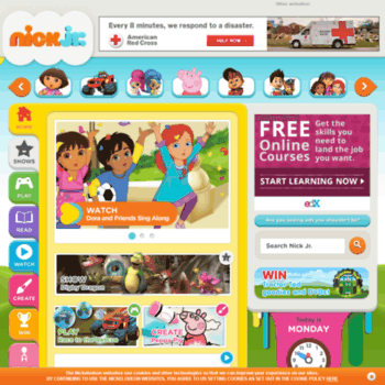 origin-www.nickjr.co.uk at WI. Play Games and Watch Full ...