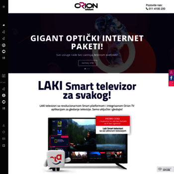 Oriontelekom.rs thumbnail