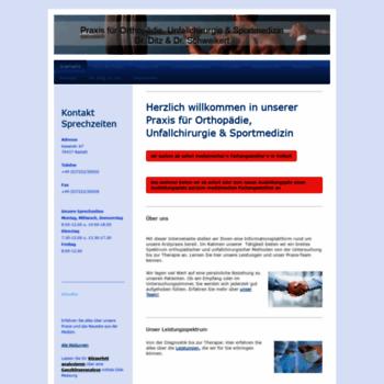 Orthopaediepraxis-rastatt.de thumbnail