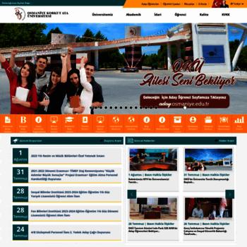 Osmaniye.edu.tr thumbnail
