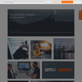 osram.dk at WI. International Homepage of OSRAM The New