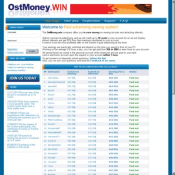 Ostmoney.win thumbnail