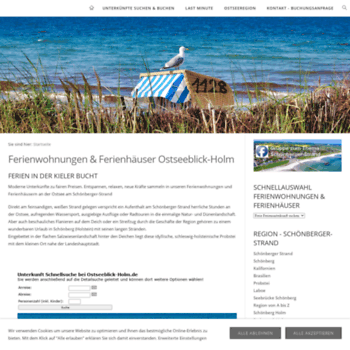 Ostseeblick-holm.de thumbnail