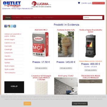 outletdellaceramica.it at WI. outlet della ceramica marsala vendita ...