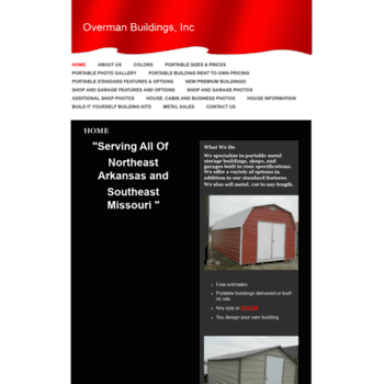 overmanbuildings com at WI  Overman Buildings - Home