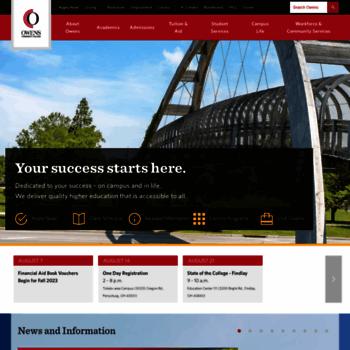 Owens.edu thumbnail