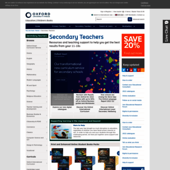 Oxfordsecondary.co.uk thumbnail