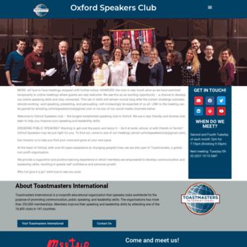 Oxfordspeakers.co.uk thumbnail