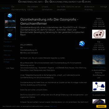 Ozonbehandlung.info thumbnail