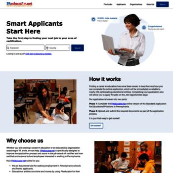 Pa-educator.net thumbnail