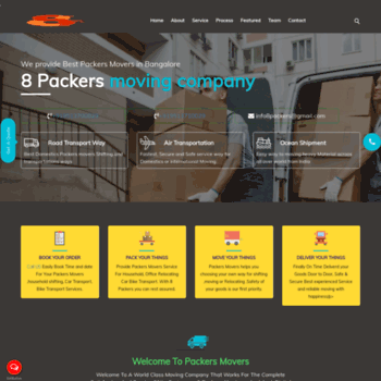 packersmoversinbangalore in at WI  Pooja Packers Movers