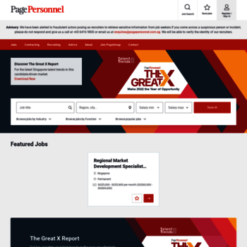 Pagepersonnel.com.sg thumbnail