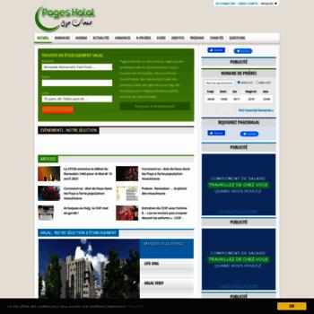 Pageshalal.fr thumbnail