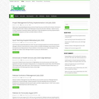 Pakjobs.info thumbnail