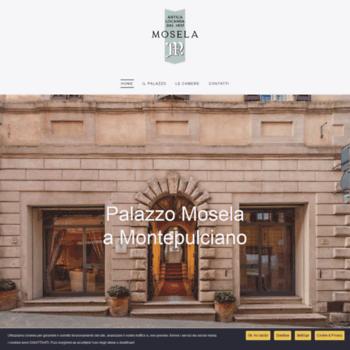 Palazzomosela.it thumbnail