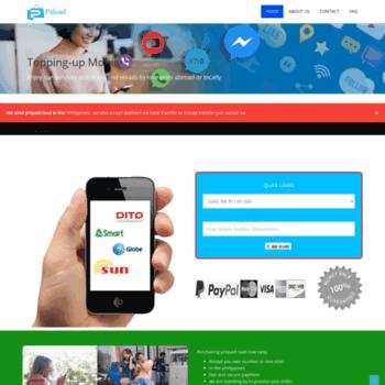 paload net at WI  Send eLoad Online | Buy Smart, Globe, Sun