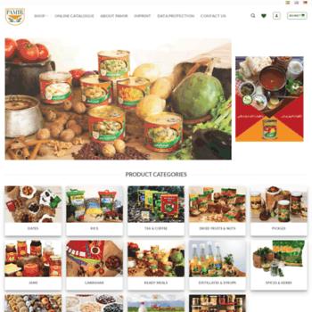 Pamir-food.de thumbnail