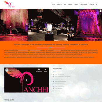 Panchhievents.in thumbnail