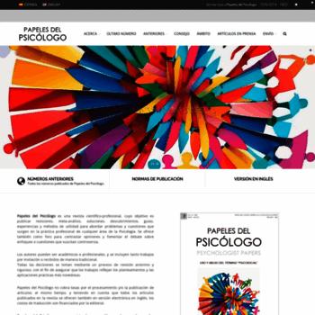 Papelesdelpsicologo.es thumbnail