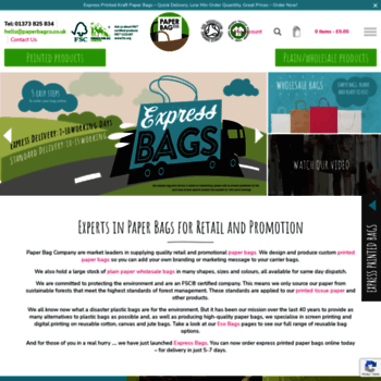 6252b9b04a paperbagco.co.uk at WI. Wholesale Paper Carrier Bags