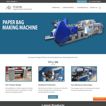 Paperbagmachine.in thumbnail