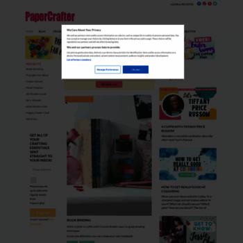 Papercraftermagazine.co.uk thumbnail
