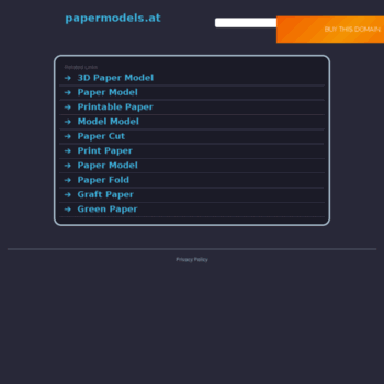 Papermodels.at thumbnail