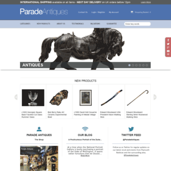 Paradeantiques.co.uk thumbnail
