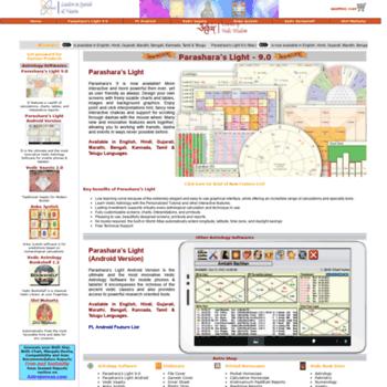 Parasharasoftware.com thumbnail