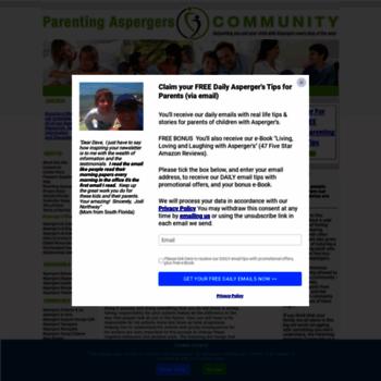 parenting aspergers community