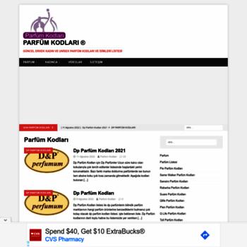 Parfumkodlaricom At Wi Parfüm Kodları