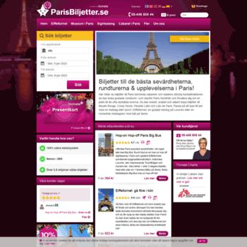 Parisbiljetter.se thumbnail