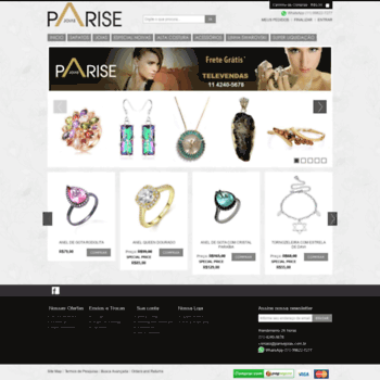 Parisejoias.com.br thumbnail