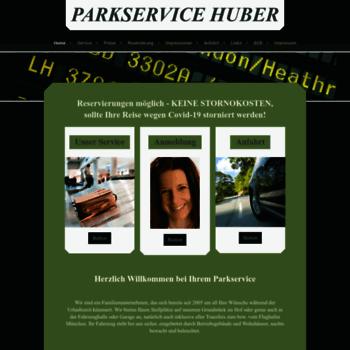 Parkservice-huber.de thumbnail