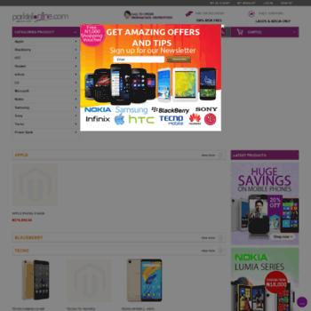 Image result for Parktelonline-eCommerce sites in Nigeria