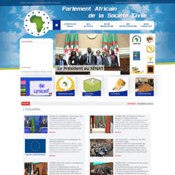 Parlementafricain.org thumbnail