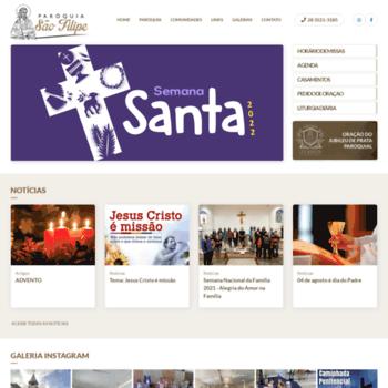 Paroquiasaofilipe.com.br thumbnail