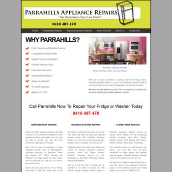Parrahills.com.au thumbnail