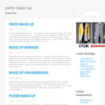 Partymakeup.tk thumbnail