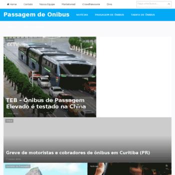 Passagemdeonibus.org thumbnail