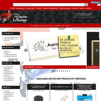 Passionmusique.ca thumbnail