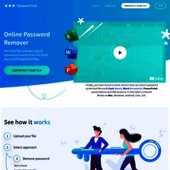 excel password breaker online
