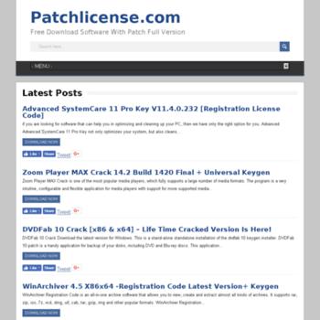 patchlicense com at WI  Patchlicense com