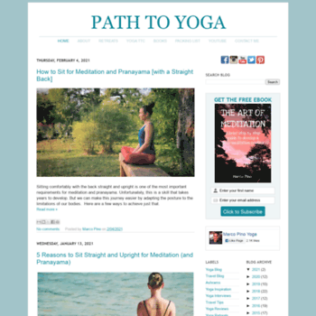 Path2yoga.net thumbnail