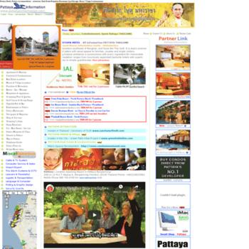 Pattayainformation.com thumbnail